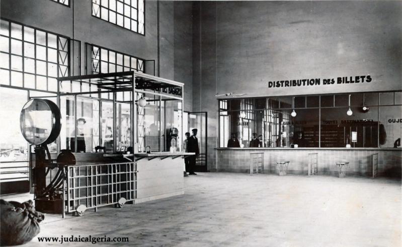 Sidi bel abbes la gare interieur