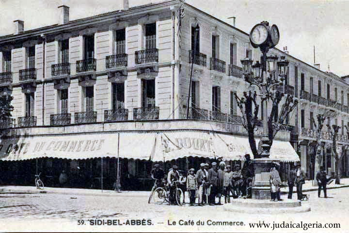 Sidi bel abbes le cafe du commerce