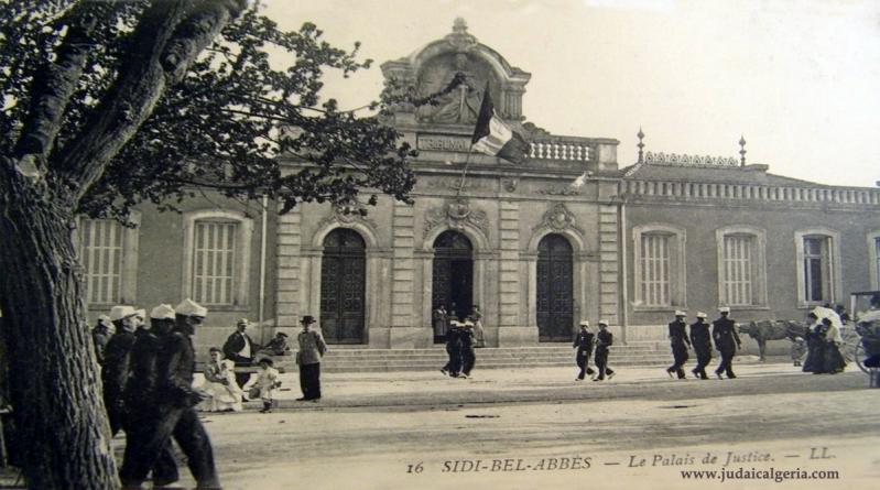 Sidi bel abbes le palais de justice
