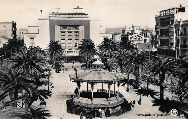 Sidi bel abbes place carnot et theatre