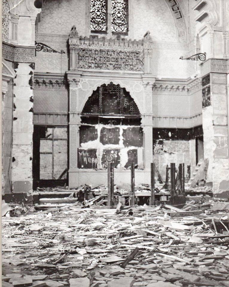 Synagogue d alger vandalisee le 11 decembre 1960