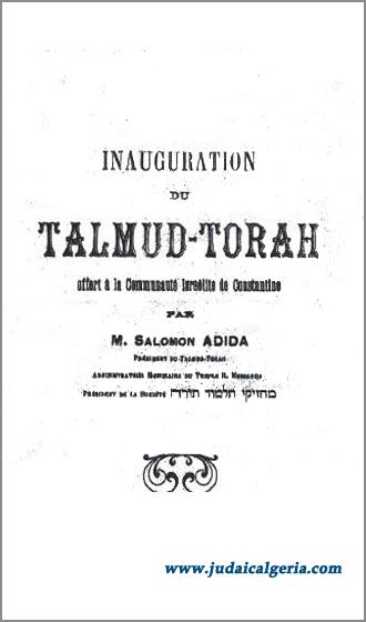 Talmud torah constantine2 1