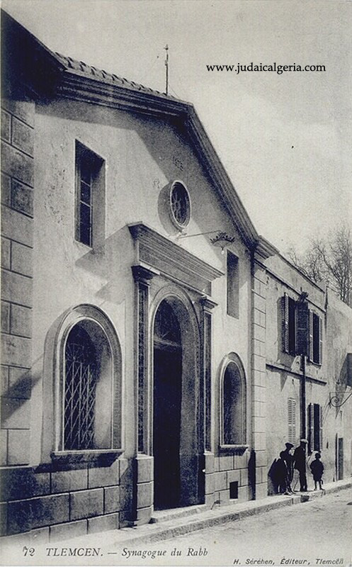 Tlemcen la synagogue du rabb 2