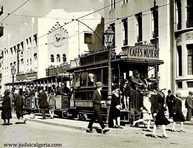 Tramways anciens alger 1926