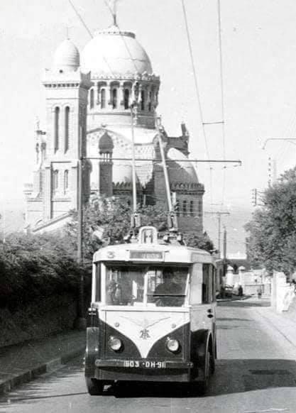 Trolley bus a nd d afrique 1