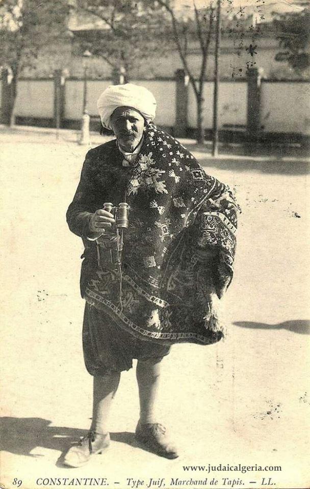 Vendeur de tapis juif de constantine debut 20 siecle copy