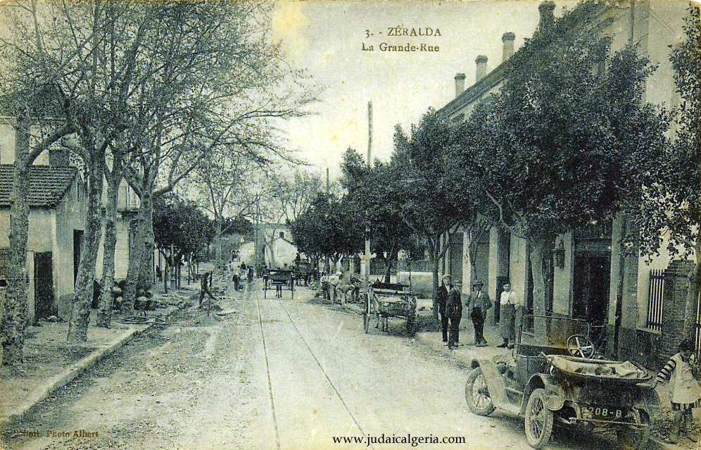 Zeralda grande rue photo ancienne